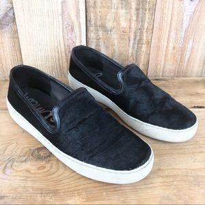 SAM EDELMAN | Becker Black Slip-On Sneaker | 9.5